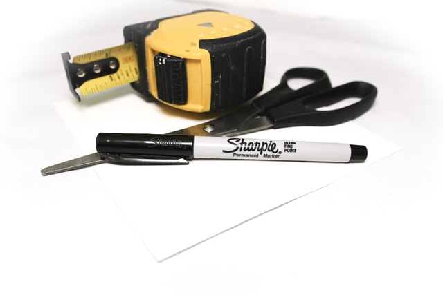 Tape Measure and Sharpie
